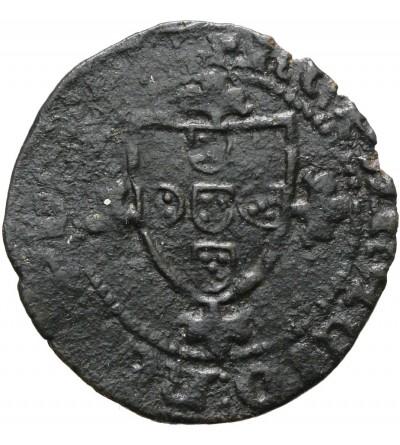 Portugalia Meio (1/2) Real Cruzado, Joao I 1385-1433, Lisboa