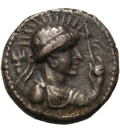Kushan Empire. AR Tetradrachm, Soter Megas, Ca 55-105 AD, Taxila