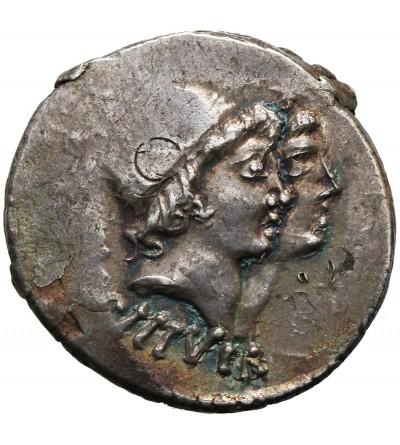 The Roman Republic. AR Denarius, Mn. Cordius Rufus, Rome 46 BC
