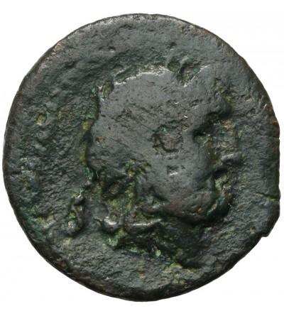 The Roman Republic. AE Semis, Rome 46 BC, L. Calpurnius Piso L.f. L.n. Frugi
