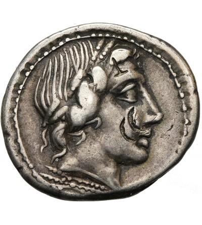 The Roman Republic. AR Denarius, C. Gargonius, M. Vergilius, Ogulnius,, Rome 86 BC