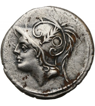 Rzym Republika. AR Denar, Q. Minucius Thermus M.f.,103 r. p.n.e.