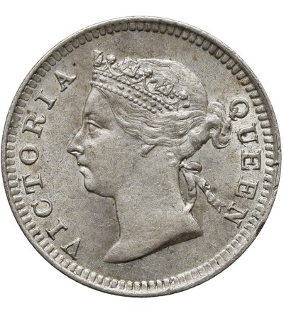 Straits Settlements 5 Cents 1901