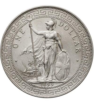 Wielka Brytania dolar handlowy 1899 B, Bombaj