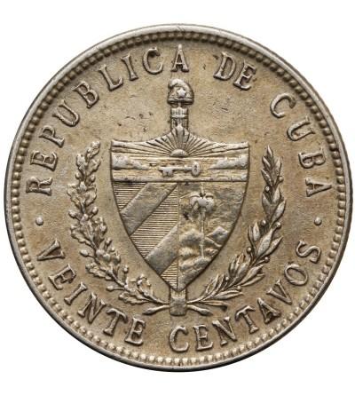 Kuba 20 centavos 1949