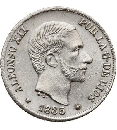 Filipiny 10 centimos 1885