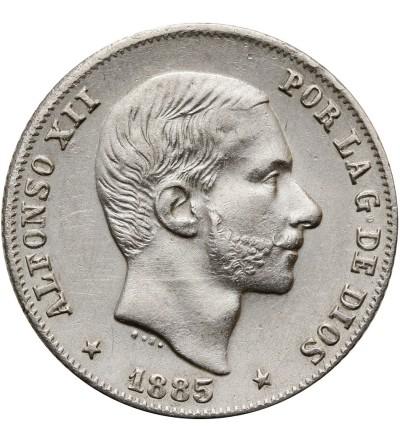 Filipiny 20 Centimos 1885