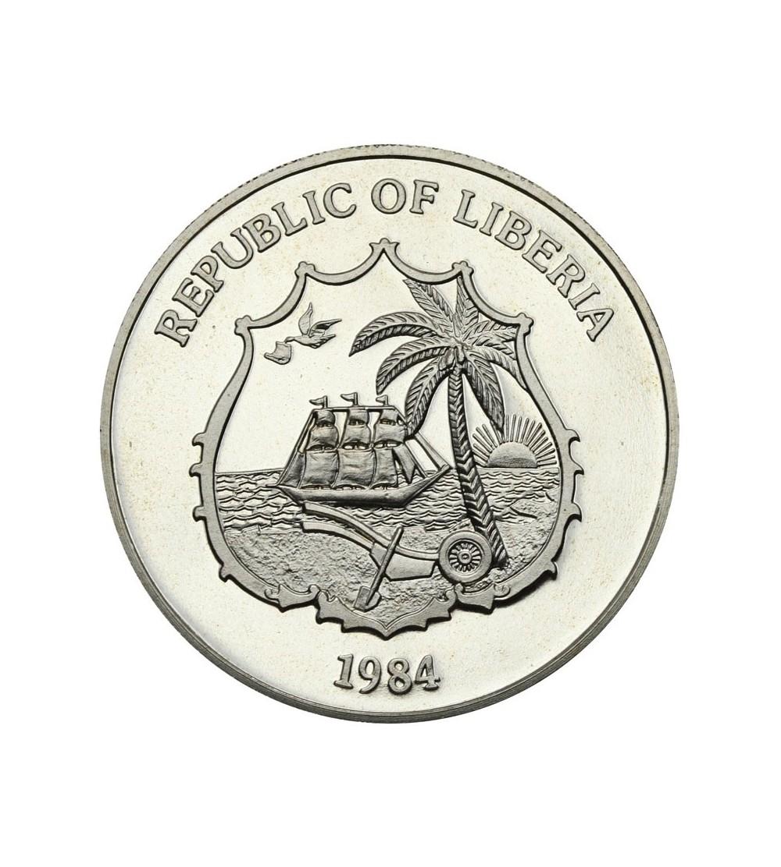 Liberia 10 dolarów 1984