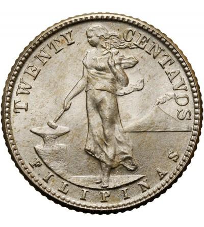 Filipiny 20 centavos 1944