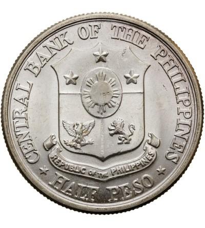 Filipiny 1/2 peso 1961, Jose Rizal