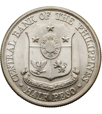 Filipiny 1/2 peso 1961