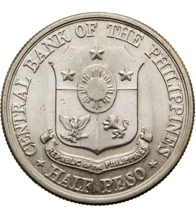 Philippines 1/2 peso 1961