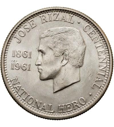 Filipiny 1/2 peso 1961