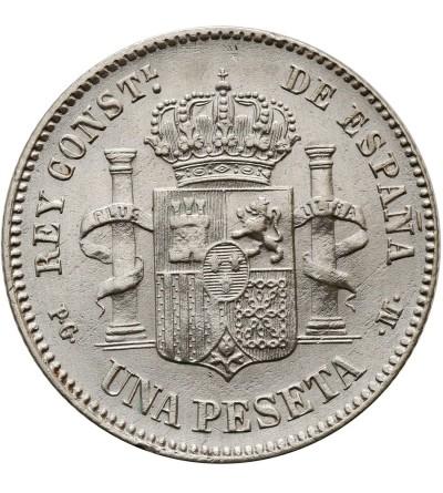 Hiszpania 1 Peseta 1891 (91) PG-M