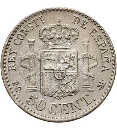 Hiszpania 50 centimos 1892 (92) PG-M