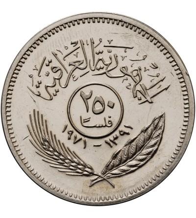 Irak 250 Fils 1971 - Proof