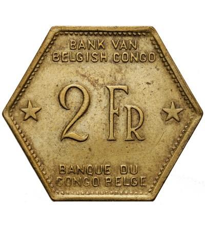 Kongo Belgijskie 2 franki 1943