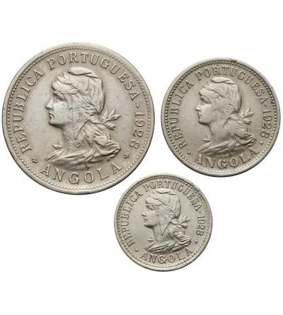 Angola 10, 20, 50 Centavos 1928
