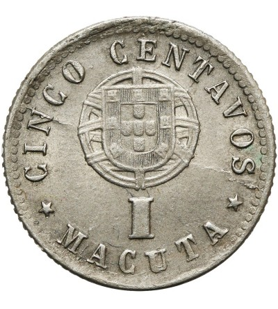 Angola 5 Centavos (1 Macuta) 1927