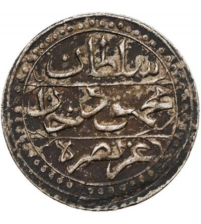 Ottoman Empire. Algiers 1/4 Budju (6 Mazuna) AH 1239 / 1823 AD, Mahmud II