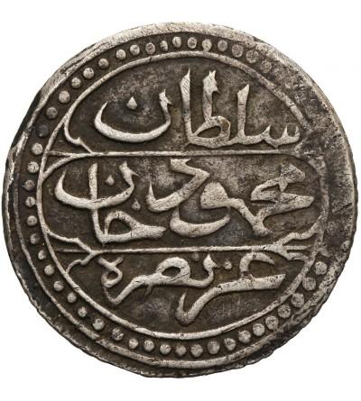 Ottoman Empire. Algiers 1/4 Budju (6 Mazuna) AH 1244 / 1828 AD, Mahmud II