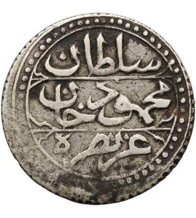 Ottoman Empire. Algiers 1/4 Budju (6 Mazuna) AH 1244 / 1829 AD, Mahmud II