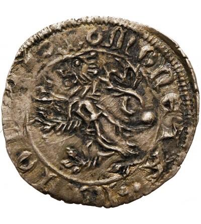 Włochy - Aquileia Patriachat. Denaro bez daty Nicolo di Boemia 1350-1358