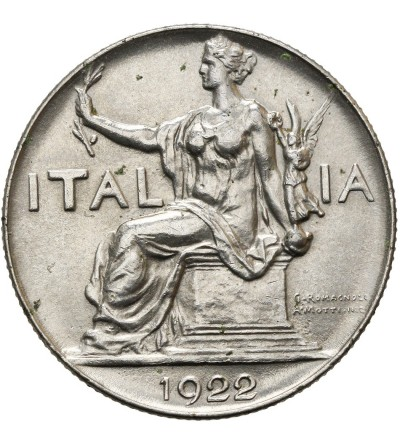 Włochy 1 lira 1922