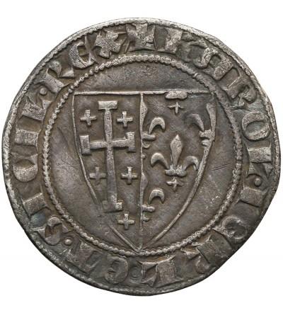 Włochy. Królestwo Neapolu Saluto d'argento, Carlo I d'Anjou 1266-1278