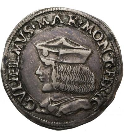 Włochy Casale. Teston bez daty, Guglielmo II Paleologo 1484-1518
