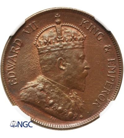 Malaje - Straits Settlements 1 cent 1903 - NGC UNC Details