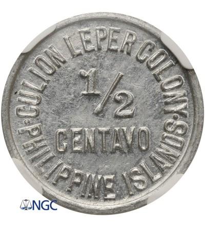 Filipiny 1/2 Centavo 1913, Culion Kolonia Trędowatych
