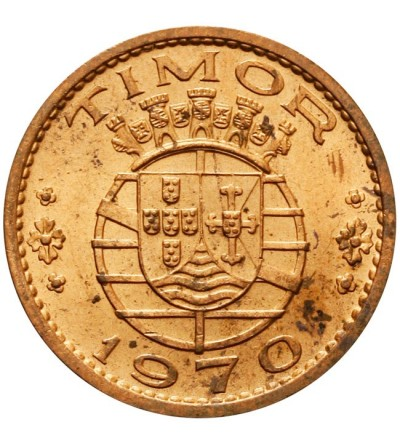 Timor 1 escudo 1970