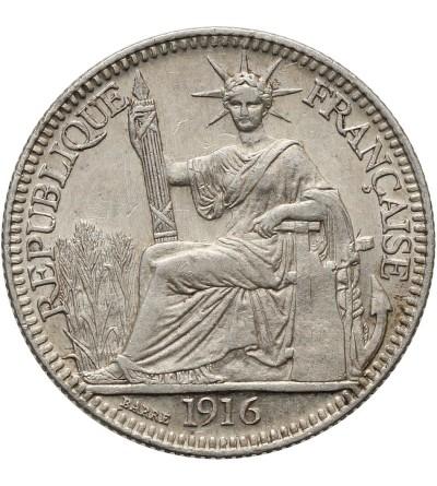 Indochiny Francuskie 10 centów 1916 A