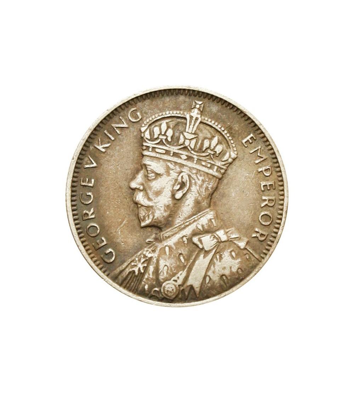Mauritius 1/4 rupii 1936
