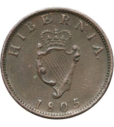 Irlandia 1/2 penny 1805