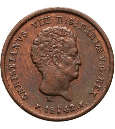 Dania 1/5 Rigsbankskilling 1842