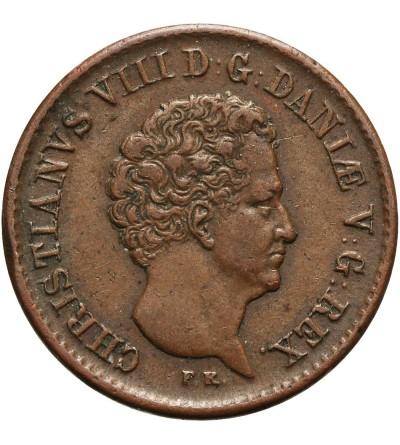 Dania 1/2 Rigsbankskilling 1842
