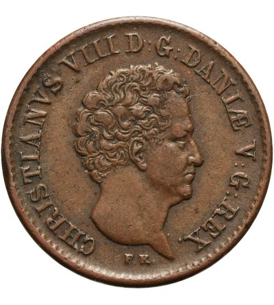 Demark 1/2 Rigsbankskilling 1842