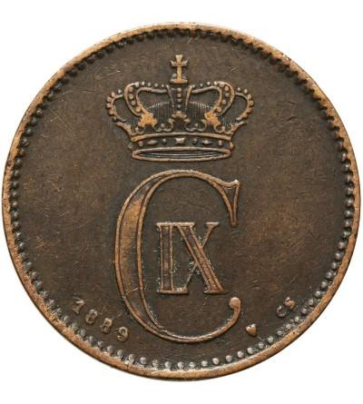 Denmark 2 ore 1889