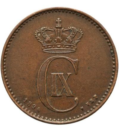 Denmark 2 ore 1894