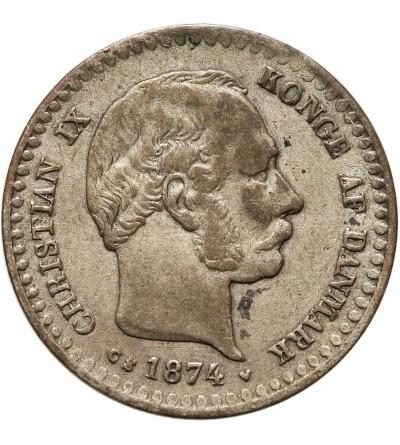 Denmark 10 Ore 1874 CS