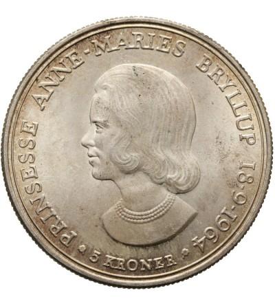 Denmark 5 Kroner 1964