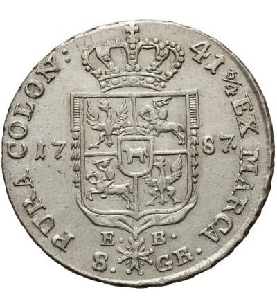 Dwuzłotówka 1787 EB, Warszawa