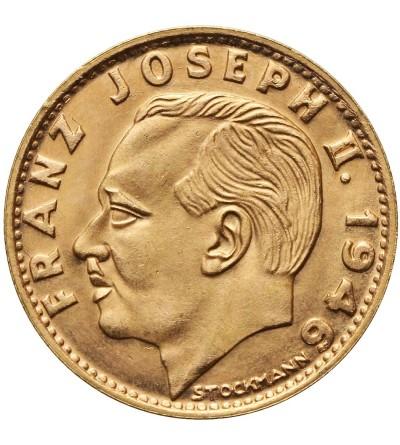 Liechtenstein 10 Francs 1946 B