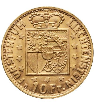 Liechtenstein 10 franków 1946 B