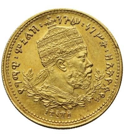 Ethiopia 1/2 Werk EE 1889 / 1897 AD