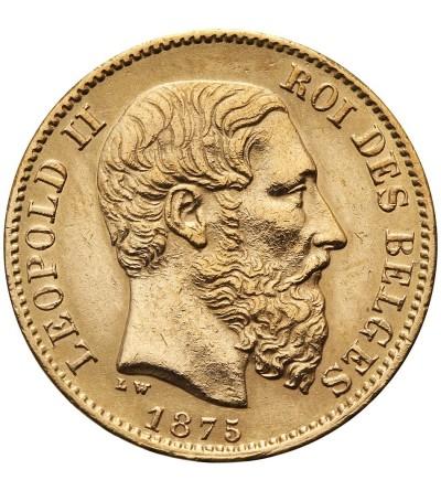 Belgia 20 franków 1875