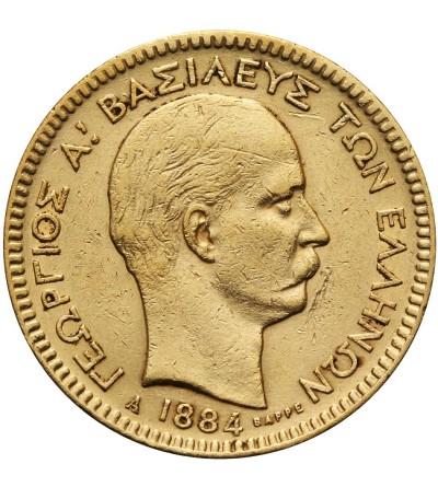 Grecja 20 drachm 1884 A