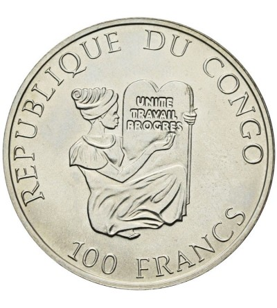 Kongo 100 franków 1995